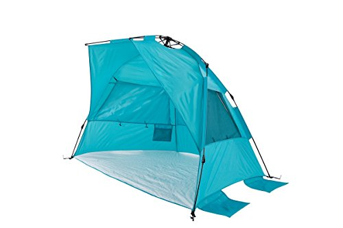 Super BlueCoast Beach Tent ...  sc 1 st  Best C& Kitchen u2013 Your c&ing supplies store & Super BlueCoast Beach Tent Automatic Instant Hub Anti-UV Pop-Up ...
