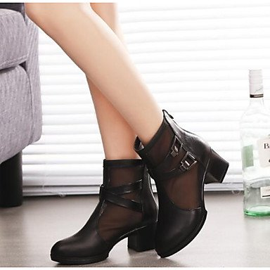 Black RTRY Casual Boots 5 Boots Winter Boots CN37 Leather Shoes For US6 Knee 5 High EU37 Slouch 7 Nappa 5 UK4 Women'S f7vfHcO