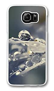 Earth Water Drops Custom Samsung Galaxy S6/Samsung S6 Case Cover Polycarbonate Transparent