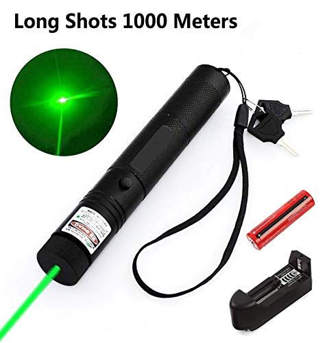 WORD GX Green Light Pointer High Power Visible Beam with Adjustable Focus for Hunting Hiking