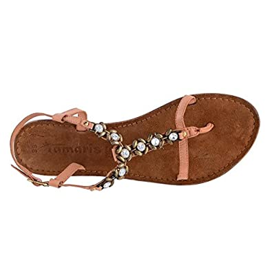 dc4654bb79bd18 Tamaris Women s Famala Peach  Buy Online at Low Prices in India - Amazon.in