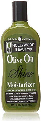 Moist Olive (Hollywood Beauty Olive Oil Moist & Shine Moisturizing Hair Lotion, 12 oz (Pack of 3))