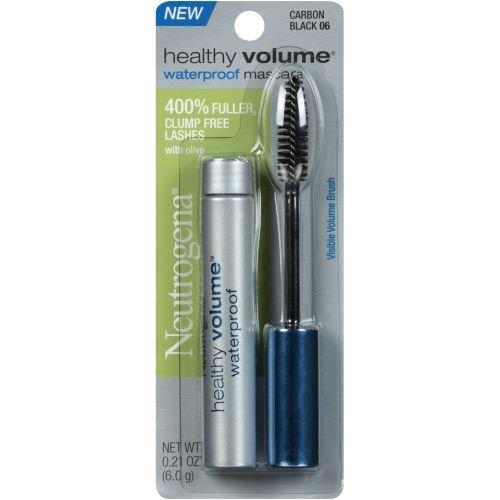 Neutrogena Healthy Volume Carbon Black Waterproof Mascara, 0.21 Ounce - 36 per case.