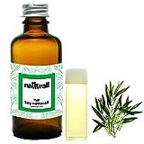 Aceite de Arbol de Te y Sábila para el Rostro e Infecciones del Cuero Cabelludo, Limpiador Facial Anti Acne