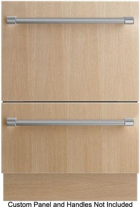 Fisher Paykel DD24DTI7 24'' Energy Star Qualified Tall Double DishDrawer Dishwasher with 9 Wash Cycles SmartDrive Technology 14 Place Settings Child Lock and Eco Options: Panel by Fisher & Paykel