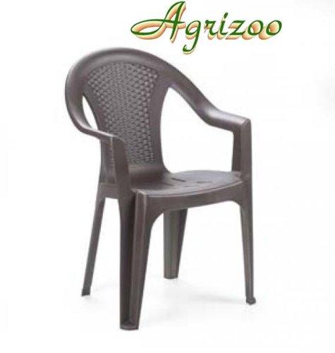 Sedie In Polipropilene Da Giardino.Sedia Da Giardino Ischia In Polipropilene Effetto Rattan Cm
