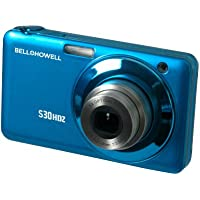 Bell+Howell S30HDZ-BL 15MP Digital Camera with 2.7-Inch LCD (Blue)