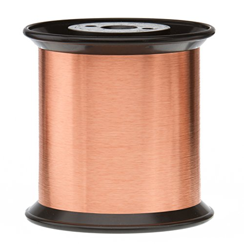Magnet Wire, Enameled Copper Wire, 43 AWG by Remington Industries