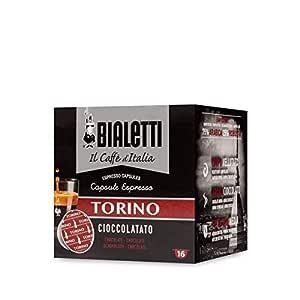 Bialetti 96080095/M Café de cápsulas de Torino, aluminio, 16 ...