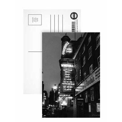 El molino de viento diseño cartel de teatro - postal (8 ...