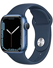 Apple Watch Series7 (GPS, 41mm) - Blue Aluminium Case, Abyss Blue Sport Band