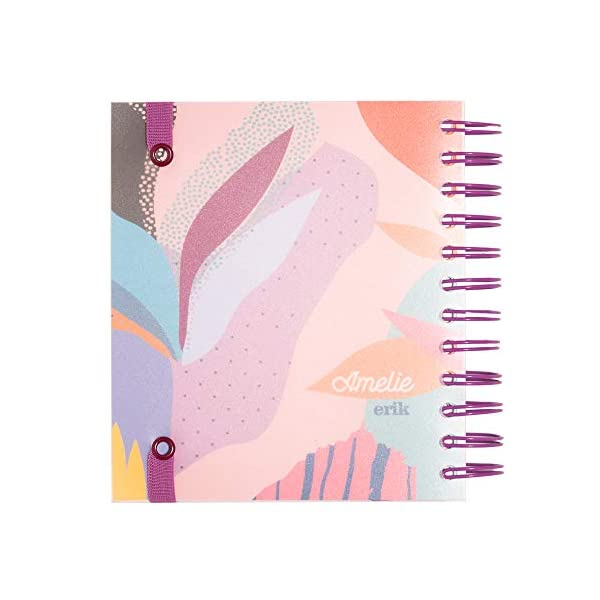 Grupo Erik Diario Scuola Giornaliero 2020/2021 Amelie, 11 mesi, daily planner, 14x16 cm, Tropical Collection 2 spesavip
