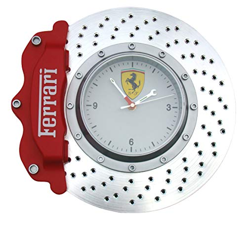 Italian Exotics Boutique Ferrari Disc Brake Wall Clock ()