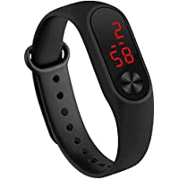 VITREND(R-TM) New Model Silicone LED Digital Good Looking Watch for Boys& Girls(Red/Orange/Blue/Black/Pink/Yellow/Purple/White Sent As Per Available Colour)