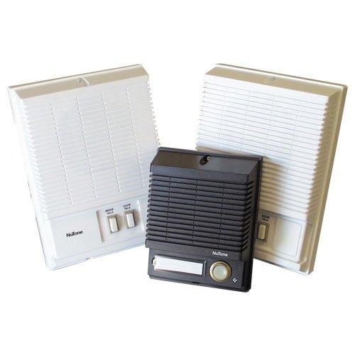 3 Station Door Answering Intercom Provides Second Inside Speaker Model Ik25wh