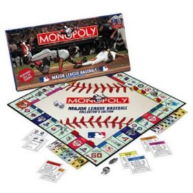 Pewter La Dodgers Baseball - Major League Baseball Collector's Edition Monopoly