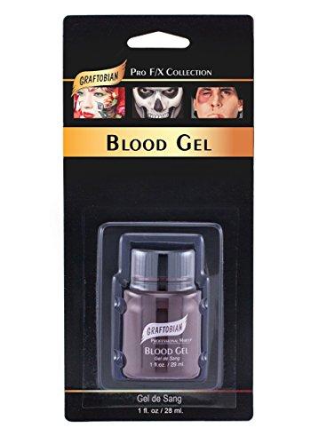 (Graftobian Make-Up Co. Deluxe Blood Gel Standard)