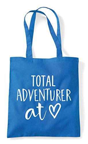 Sapphire Bag Statement Shopper At Total Adventurer Tote Heart qZO1a