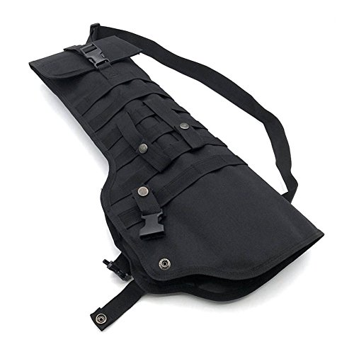 Qjoy Hunting Scabbard Protective Cover Shoulder Carry Sling Bag Shooting Tool Holster Case for Outdoor by Qjoy (Image #3)
