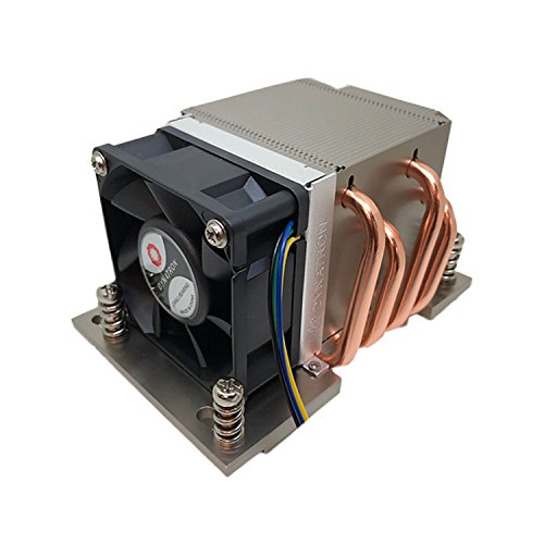 Dynatron A26 2U Active Aluminum Heatsink with Heatpipe Embedded for AMD  EPYC Socket SP3