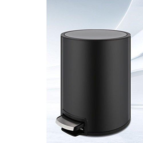 LWZY Stainless Steel Rubbish Bin,With Plastic Inner Bucket W