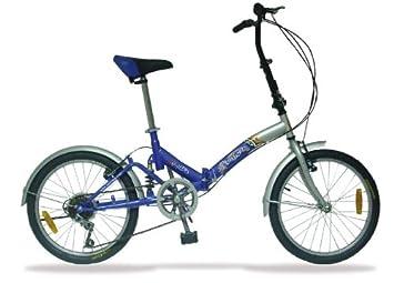 Bicicleta plegable 20 V-Brake - 6 Velocidades