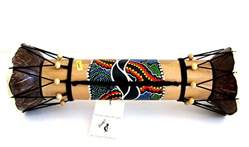 "Djembe Drum Bongo Congo Wooden African Hand Drum - SIZE 16"", JIVE BRAND- Professional Sound"
