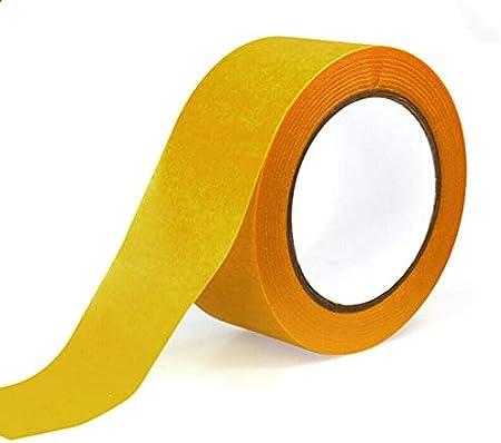 amarilla para uso profesional y bricolaje pulverizaci/ón corporal y m/ás BE-TOOL Cinta de carrocero 2 unidades decoraci/ón manualidades amarillo electrodom/ésticos