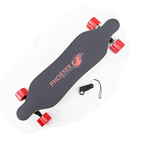 Phoenix 2019 New Model Mini Electric Skateboard Dual Motors 15KM Range 26KM/H Top Speed with Remote Controller
