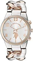 U.S. Polo Assn. Women's Quartz Metal and...