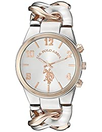 U.S. Polo Assn. Women's USC40176 Analog Display Analog Quartz Two Tone Watch