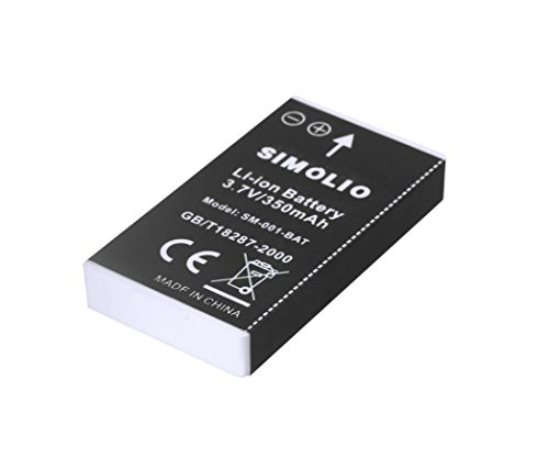 Simolio Li-ion Battery for Simolio Wireless TV Headphones SM-823, SM-823D, Rechargeable and Replaceable Battery for Simolio Wireless TV Hearing Assistance Headsets price tips cheap