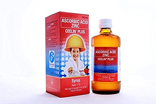 Zinc Syrup (Ceelin Plus Syrup Ascorbic Acid Zinc 250mL)