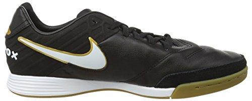 Nike Herren Tiempo Mystic V Indoor/Court Fußballschuhe Schwarz (Black/White)