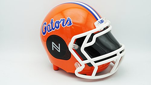 NIMA Portable Bluetooth Speaker, [Officially Licensed by NCAA] NCAA College Football Helmet Stereo Speaker with Built-in-Mic, Hands-Free Call, AUX, Built-in-Subwoofer, HD Sound and Bass-NSGATORS.SM (Best Looking College Football Players)