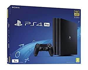 Sony PS4 Pro 1TB Console 4k HDR Jet Black