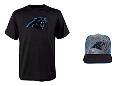 NFL Youth Sizes 8-20 Perfomance T-shirt With Adjustable Cap Set