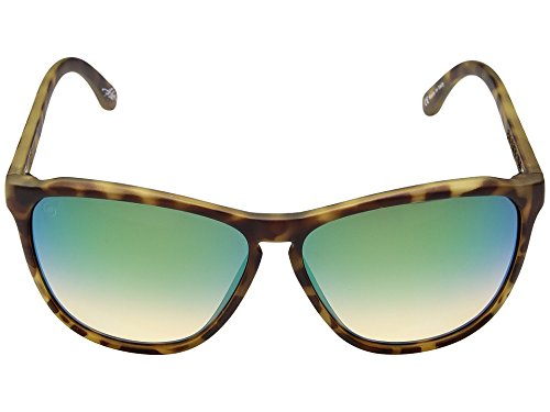 Electric Eyewear Women's Encelia Pineapple Tortoise/Ohm Green Chrome Sunglasses by Electric Visual