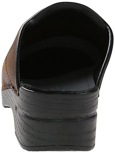 Clog Dansko Oiled Karl Antique Black Sole Leather Men's Brown wO4AIq