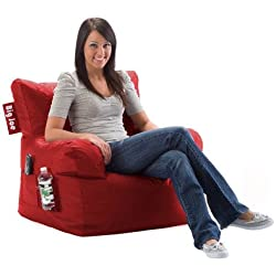 Big Joe Dorm Bean Bag Chair Color: Chili Pepper Red