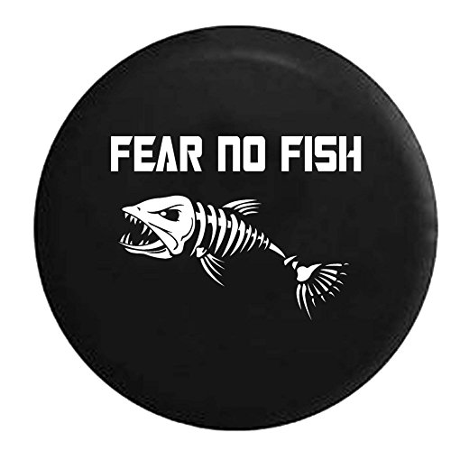 Compare price to bass tire cover for Fear no fish