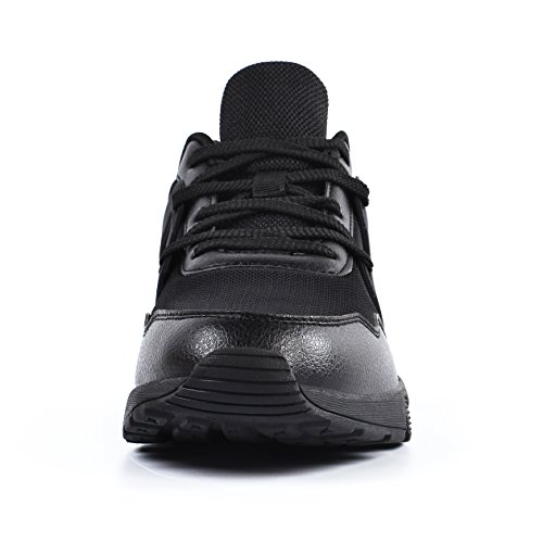 Casual Mesh Breathable Running Shoes Walking Sport Black Men's Fashion Sneakers Gym Athletic Trainer Mxson UfTS0YPPq