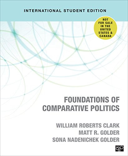 Foundations of Comparative Politics por William Roberts Clark,Matt Golder,Sona N. Golder