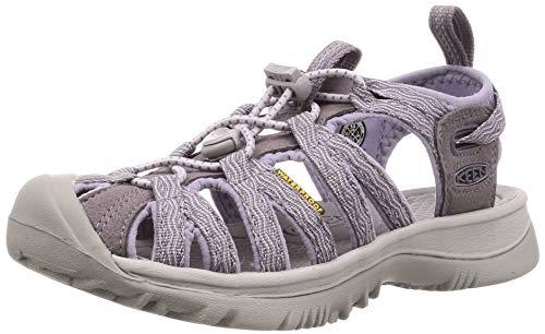 KEEN Women's Whisper Sandal, Shark/Lavender Grey, 5.5 M US (Keen Sandals Strappy)