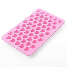 Xcellent Global Mini Heart Shape Silicone Ice Cube / Chocolate Mold Random Color M-HG011