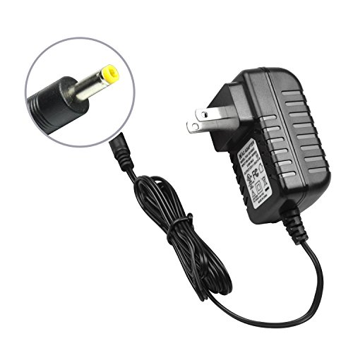 Wall Charger for Portable DVD Player, Power Supply Cord AC-DC Mains Adapter Compatible with UEME Portable DVD [UL Listed]