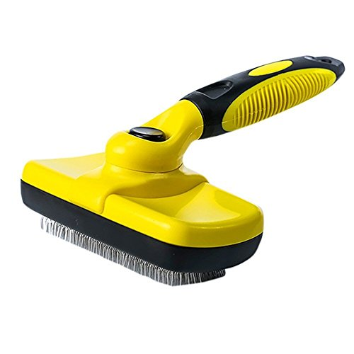 WMTGUBU Self Cleaning Slicker Brush, Pet Grooming Brush Best Shedding Tools...