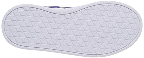 adidas VL Court 2.0 CMF C, Zapatillas de Gimnasia Unisex Niños Azul (Azalre / Maruni / Roalre 000)