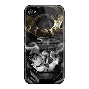 Shock Absorption Hard Cell-phone Cases For Iphone 4/4s (PMu11626SwAM) Provide Private Custom Stylish Avenged Sevenfold Skin