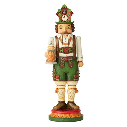 Enesco Jim Shore Heartwood Creek German Nutcracker Figurine (Figurines Germany)